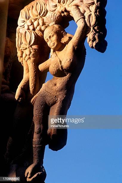 Sculpture Sanchi Madhya Pradesh India
