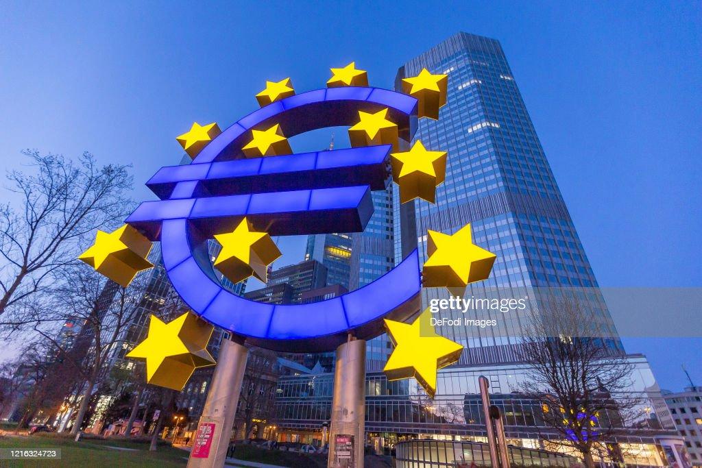 European Central Bank building : ニュース写真