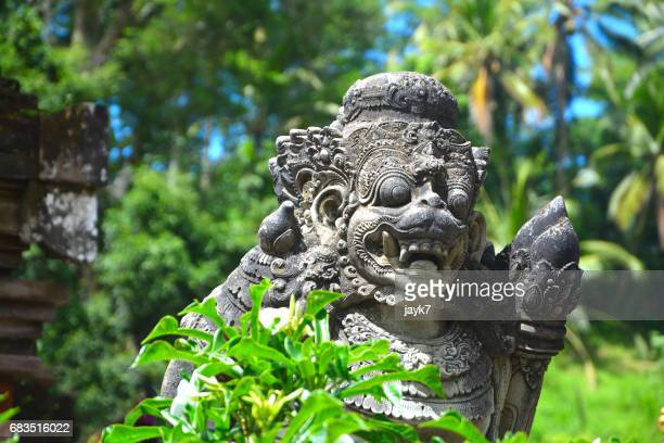 Sculptures in Tirta Empul Temple