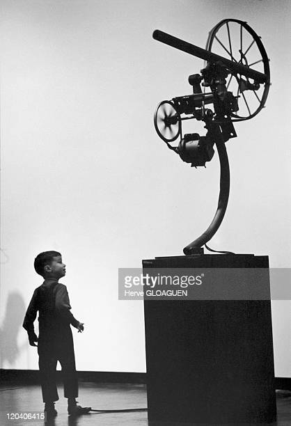 Sculptures of Jean Tinguely in New York, United States - Juif museum, sculptures of Jean Tinguely. Jean Tinguely, born in Fribourg in 1925 and died...