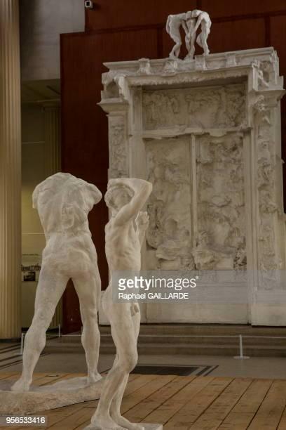 Sculptures représentant Victor Hugo atelier où travaillait Rodin le 10 novembre 2016 Meudon France
