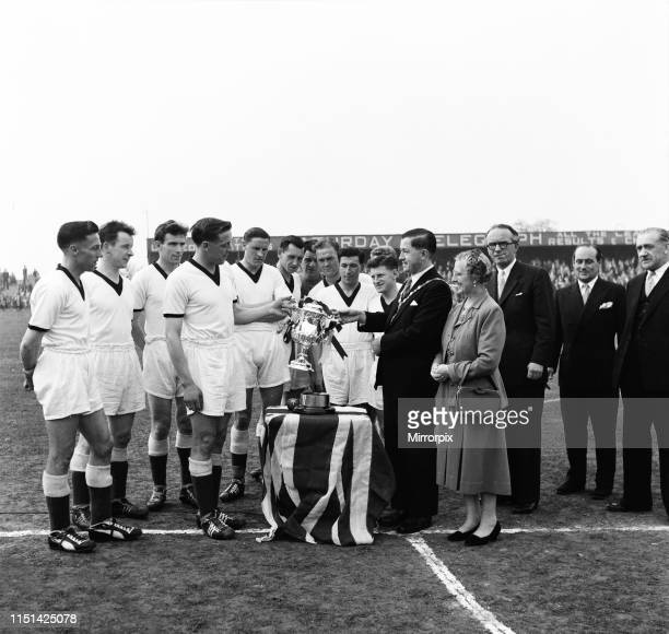 Scunthorpe United Third Division Champions & Sunday Pictorial Giant-killers Cup Winners 1958. Scunthorpe received this trophy in recognition of the...