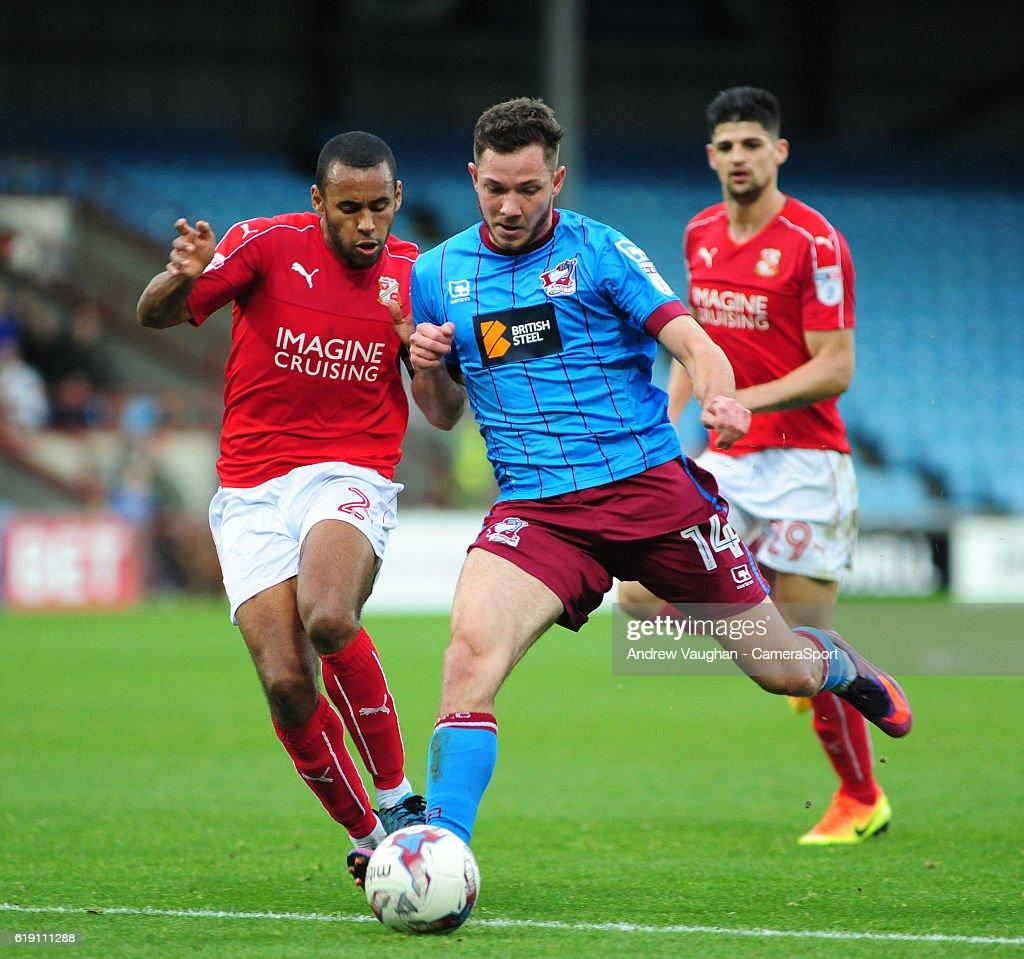 Scunthorpe United v Swindon Town - Sky Bet League One