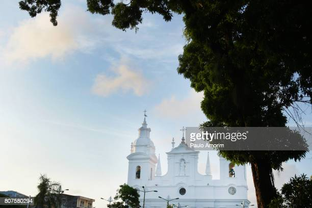 Se Cathedral from 18th Century  in the old colonial town of Belém,Brazil
