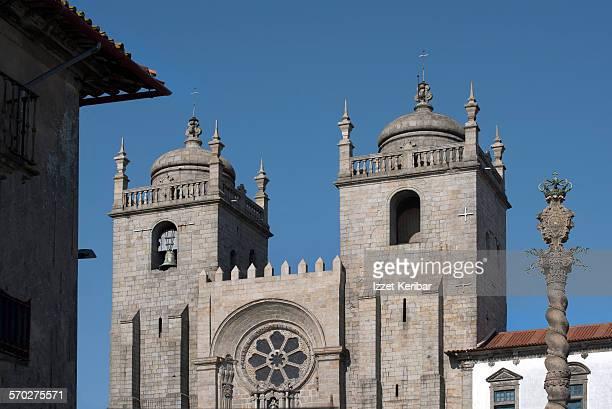 se cathedral in porto, portugal - catedral - fotografias e filmes do acervo