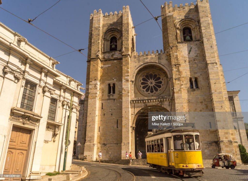 Se Cathedral, Lisbon : Stock Photo