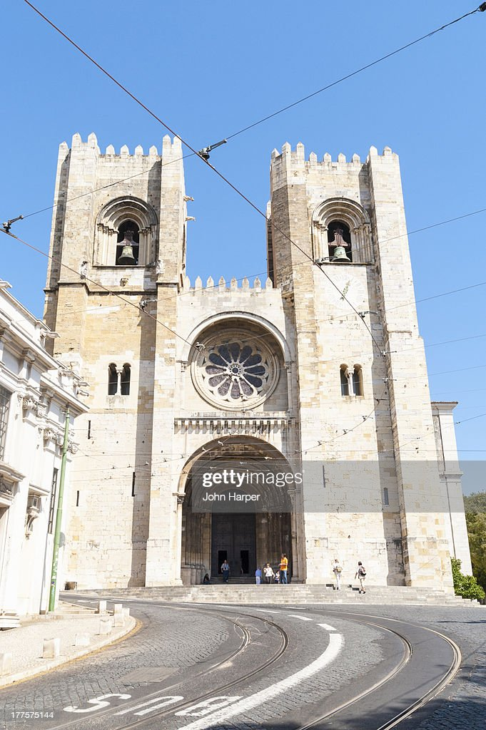 Se Cathedral, Lisbon, Portugal : Stock Photo