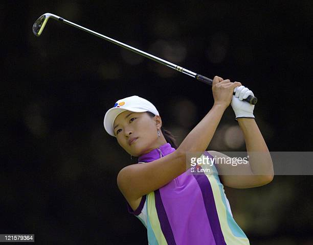 Se Ri Pak during the continuation of the second round of the Jamie Farr Owens Corning Classic at Highland Meadows Golf Club in Sylvania Ohio on...