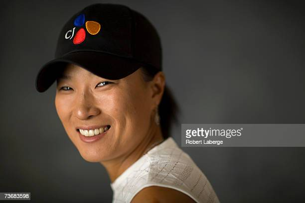 Se Ri Pak of South Korea poses for a portrait at the LPGA Safeway International on March 21 2007 at the Superstition Mountain Golf and Country Club...