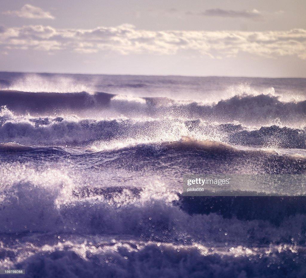 Mare e onde : Foto stock