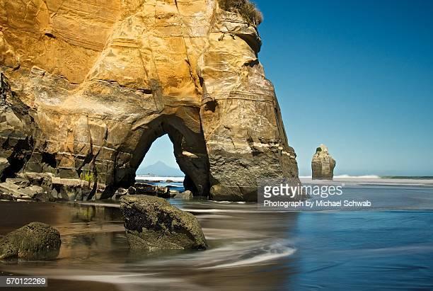 Sea arch, New Zealand