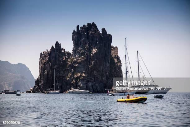 Sea at Panarea, Messina, Italy