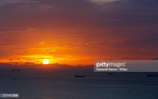 sea at sunset, arima, trinidad and tobago - paisajes de trinidad tobago fotografías e imágenes de stock