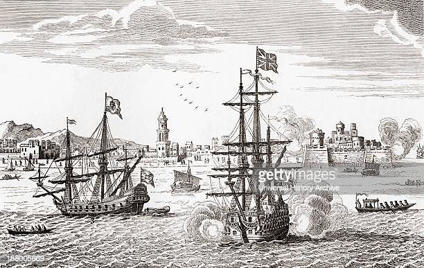 Sea Battle Between George Anson's Ship The Centurion And The Manilla Galleon In 1737 From The Book Short History Of The English People By JR Green...