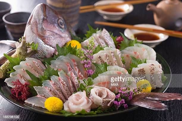 Sea Bream Sashimi