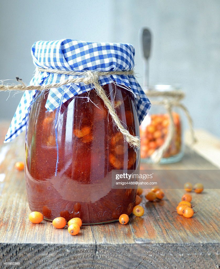 Sea buckthorn jam : Photo