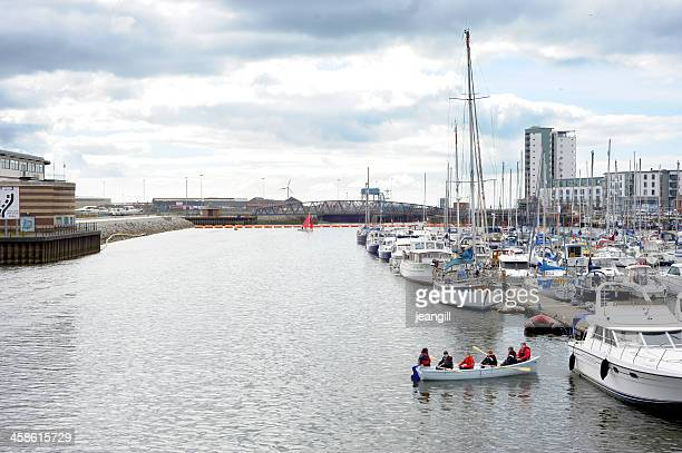 Sea Kadetten in Swansea marina, wales, UK