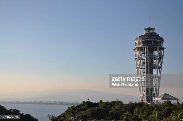 Sea Candle Tower at Enoshima Island, Japan
