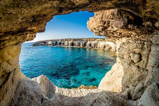 Sea Caves near Ayia Napa, Cyprus 514991484