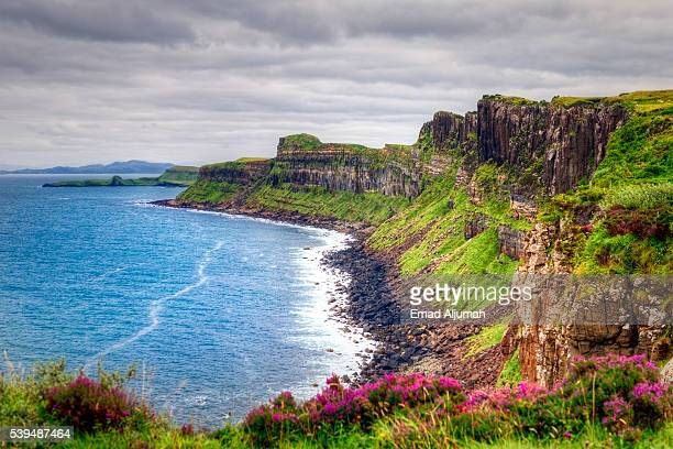 Sea Cliffs on the cost of Isle of Skye, Scotland