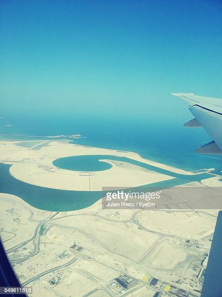 sea coast seen from plane - abidjan stock pictures, royalty-free photos & images