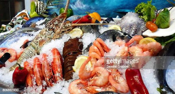 Sea Food Market Display