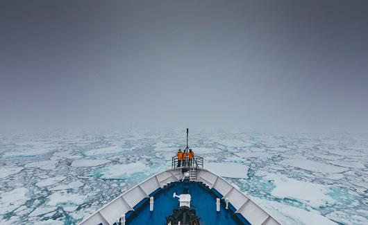 Sea Ice Edge - gettyimageskorea