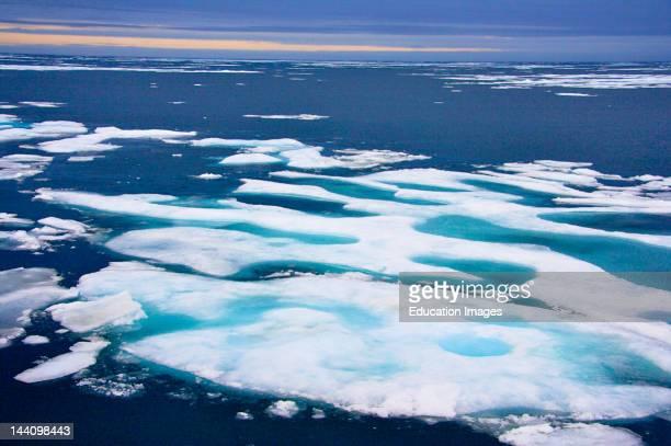 Sea Ice Northwest Passage Nunavut Arctic Canada