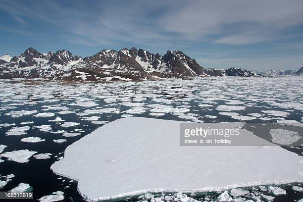 sea ice - poolklimaat stockfoto's en -beelden