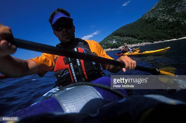 Sea kayaking in Croatia