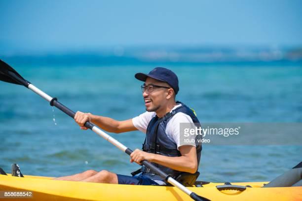 Sea kayaking in Okinawa