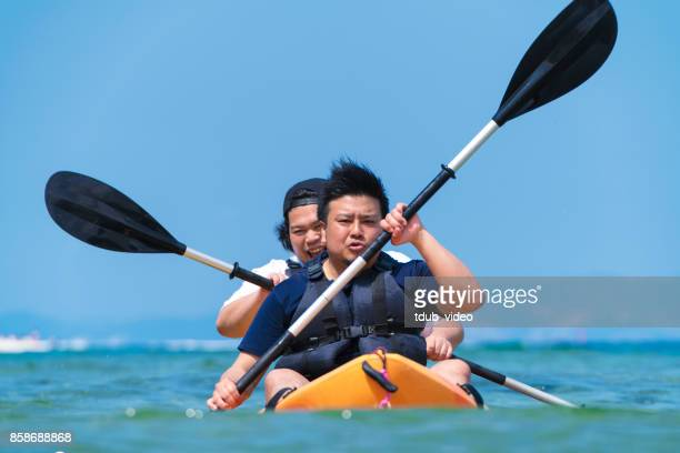 Sea kayaking in Okinawa