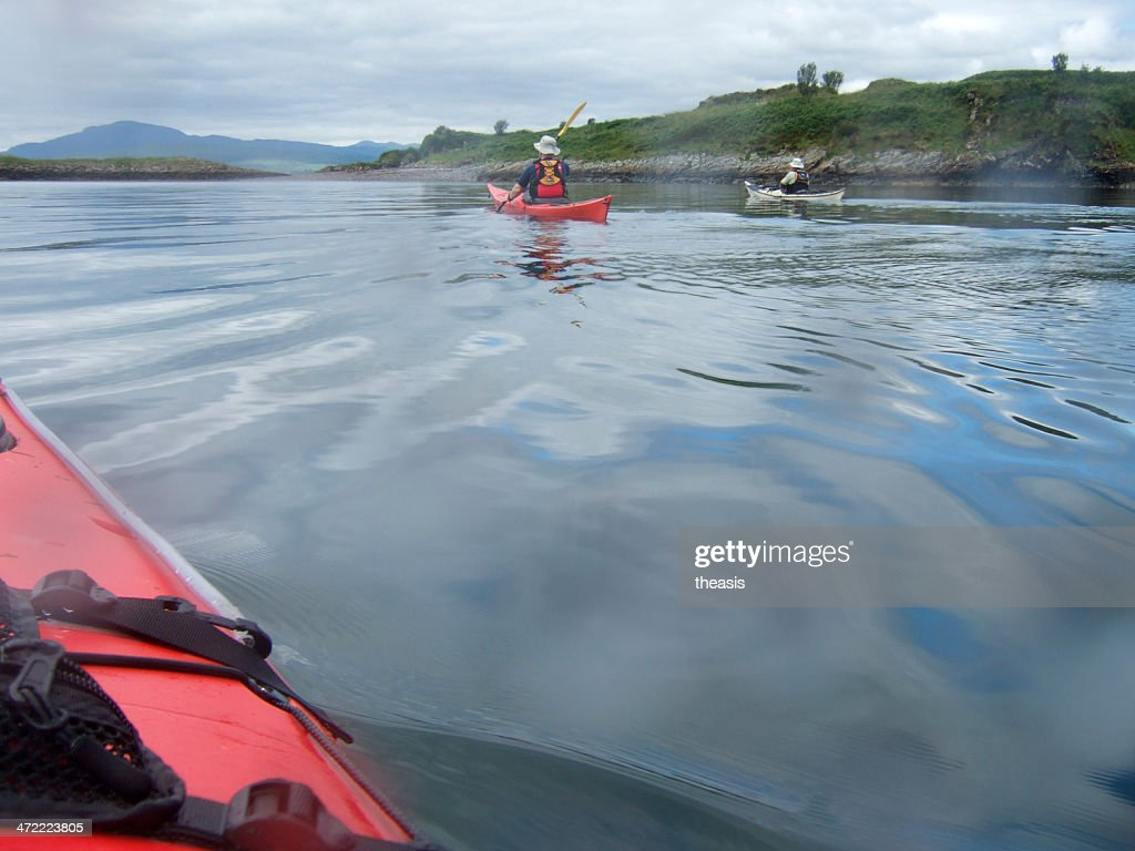 Sea Kayaking in Scotland : Stock Photo