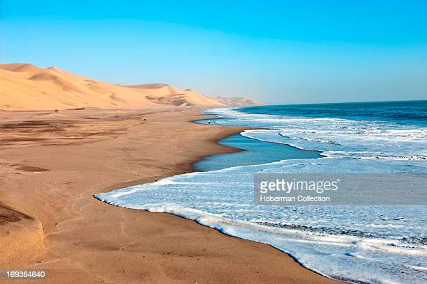 Sea Landscapes and Dunes at Naukluft Park In Namibia