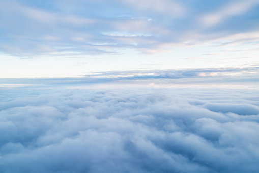 Sea Of Clouds above the stratosphere 1088909334