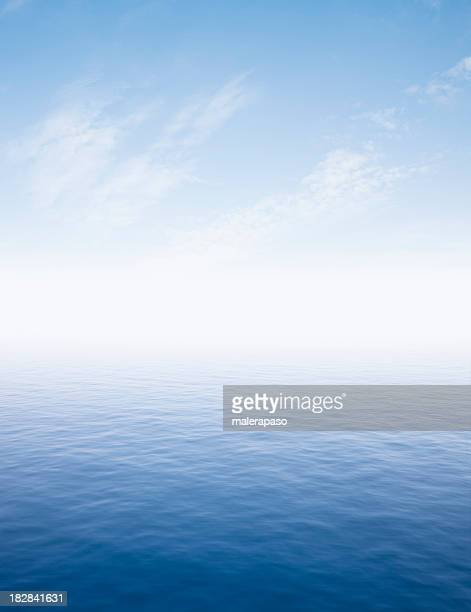 sea - horizon over water stock pictures, royalty-free photos & images