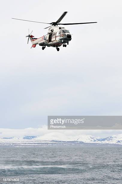 sea rescue helicopter - coast guard stock pictures, royalty-free photos & images