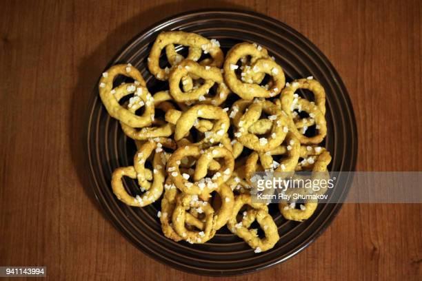 Sea Salted Oat Pretzel Knots Snacks - Gluten Free