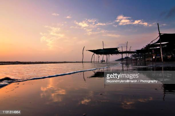 sea scape - gujarat stock pictures, royalty-free photos & images