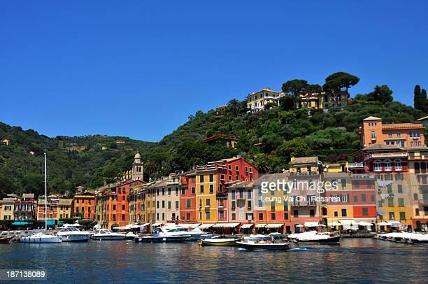 Sea side of Portofino