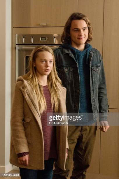 COLONY 'Sea Spray' Episode 310 Pictured Isabella CrovettiCramp as Grace Bowman Alex Neustaedter as Bram Bowman
