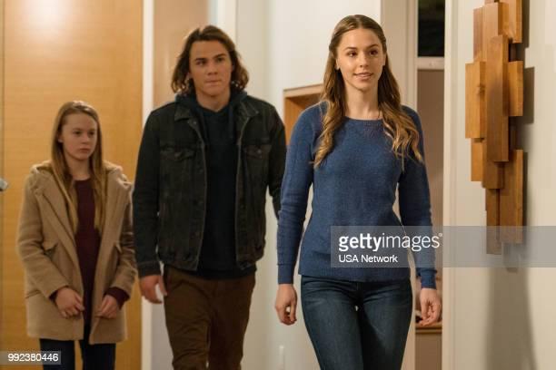 COLONY 'Sea Spray' Episode 310 Pictured Isabella CrovettiCramp as Grace Bowman Alex Neustaedter as Bram Bowman Elise Gatien as Meadow