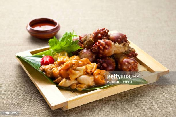 Sea Squirt Sashimi