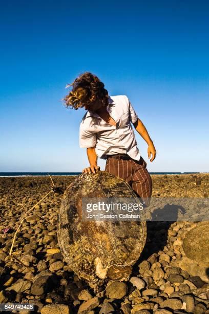 Sea Turtle Shell on Anjouan Island