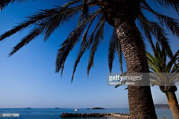 sea view from beach - bavosi stock pictures, royalty-free photos & images