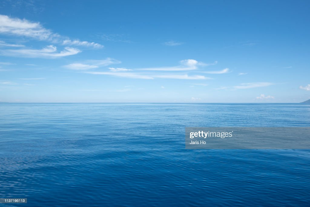 Sea with cloud : Stock Photo