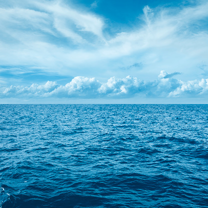 Sea with clouds - gettyimageskorea