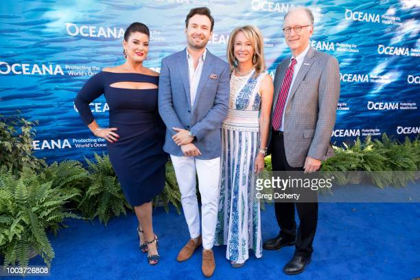 SeaChange Chair Elizabeth Wahler, SeaChange Co-Chair Jeff Blasingame, SeaChange Chair and Oceana Boardmember Valarie Van Cleave and Oceana CEO Andy...