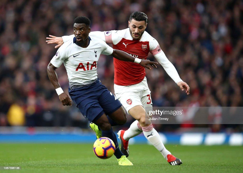Arsenal FC v Tottenham Hotspur - Premier League : News Photo