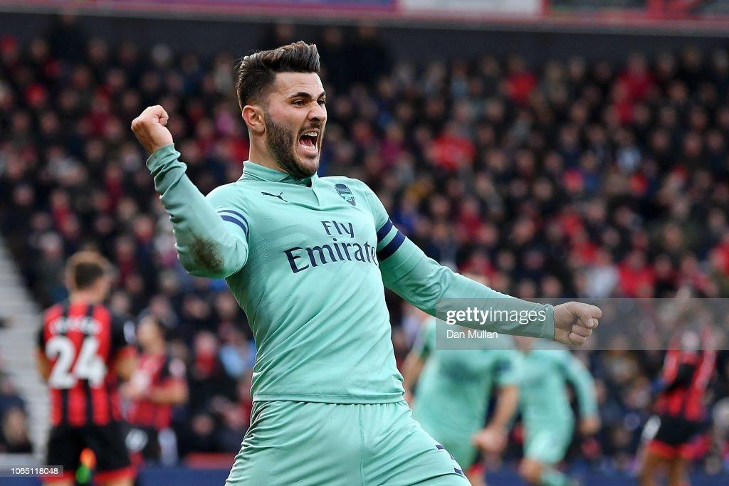 AFC Bournemouth v Arsenal FC - Premier League : ニュース写真